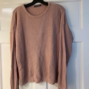 Brandy Melville Pink and Green Sweaters (2) OS